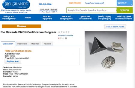 PMC Certifciation, Rio Grande